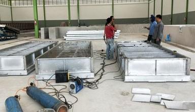 泰国东北部2.5万吨天然橡胶生产线