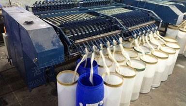越南1000吨剑麻纱条生产线