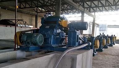 科特迪瓦8400吨天然橡胶TSR20生产线